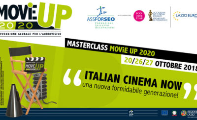 Masterclass Movie Up ottobre 2018