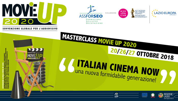 e76bc862684d Masterclass MOViE UP 2020 – Incontri speciali Italian Cinema Now