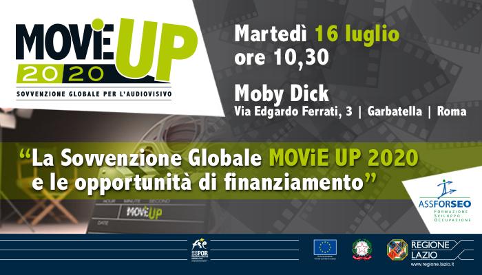 Evento di prtesentazione Sovvenzione Globale MOViE UP 2020