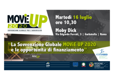 Evento di presentazione delle opportunità di finanziamento MOViE UP 2020 – 16 luglio 2019