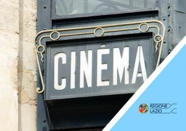 """Avviso pubblico per la concessione del contributo """"Ripartenza Cinema Lazio"""""""