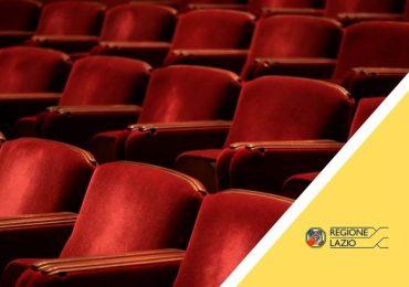 """Avviso pubblico per la concessione del contributo """"Ripartenza Teatri Lazio"""""""